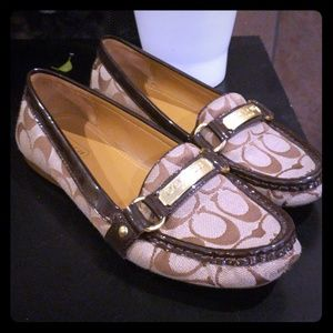 Coach loafers/ flats